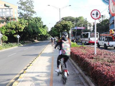 Medellín cada vez más conectada para transitar en bici