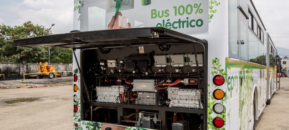 Buses eléctricos para Metroplús