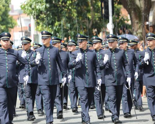 Desfile militar del 20 de Julio