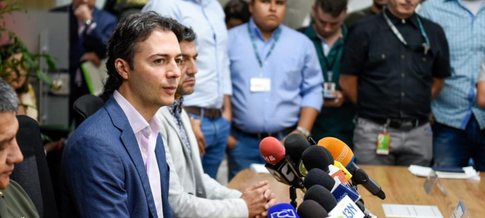El Alcalde de Medellín anuncia nuevas medidas de seguridad para la ciudad