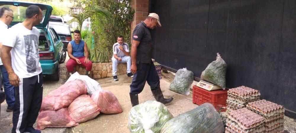 La Alcaldía de Medellín apoya a productores locales con la compra de alimentos por contingencia del coronavirus