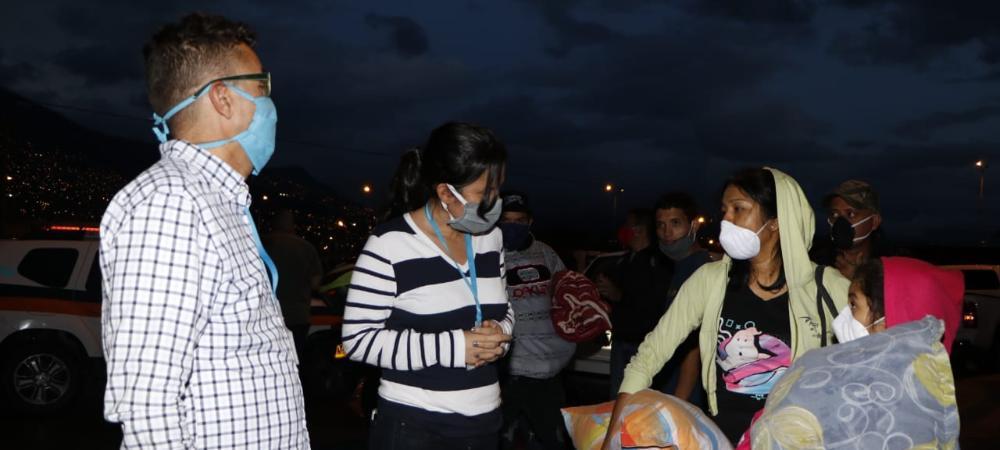Alcaldía de Medellín facilitó el retorno de venezolanos a su país