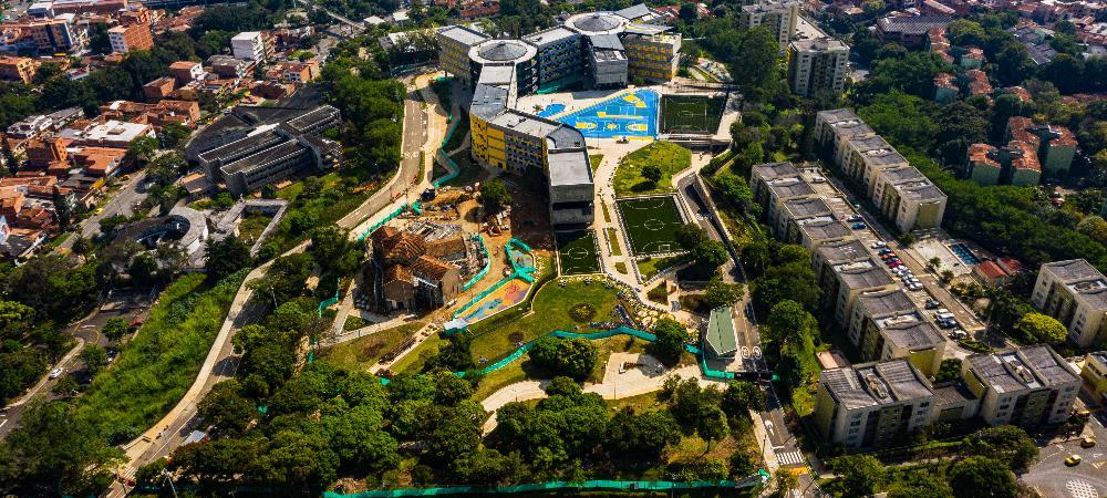 Los alrededores de la Ciudadela Universitaria Occidente son un nuevo espacio de encuentro ciudadano