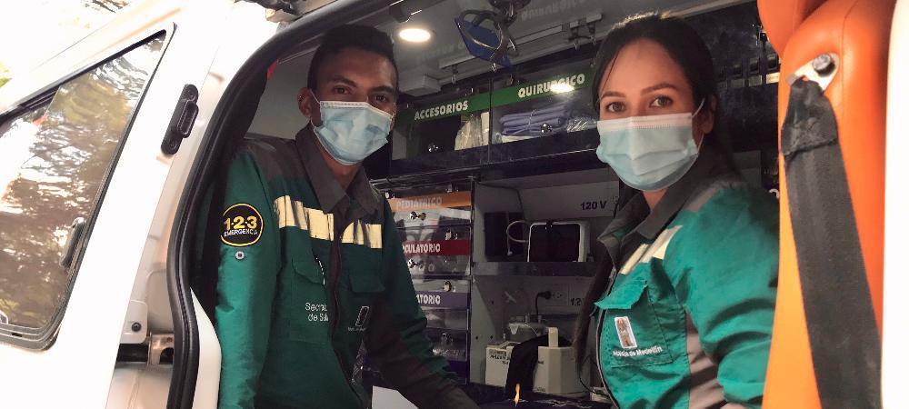 La Alcaldía de Medellín exalta la labor del Personal de Atención Prehospitalaria