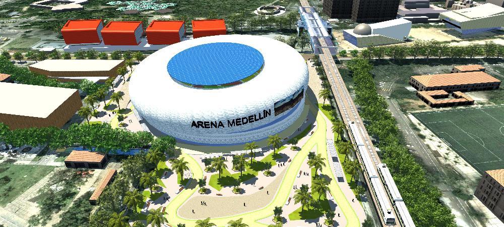 Arena Medellín avanza para entregar a la ciudad un centro de espectáculos de talla mundial