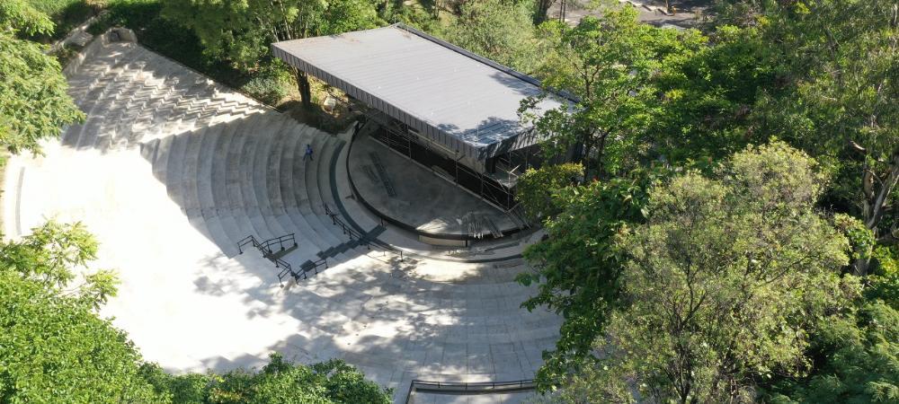 Tras siete años de cierre, hoy se entrega a la ciudad el renovado Teatro al Aire Libre Carlos Vieco