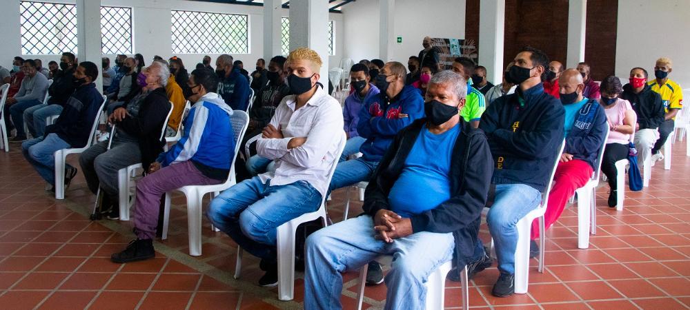 85 habitantes de calle se certifican en habilidades laborales para acceder a oportunidades de empleabilidad