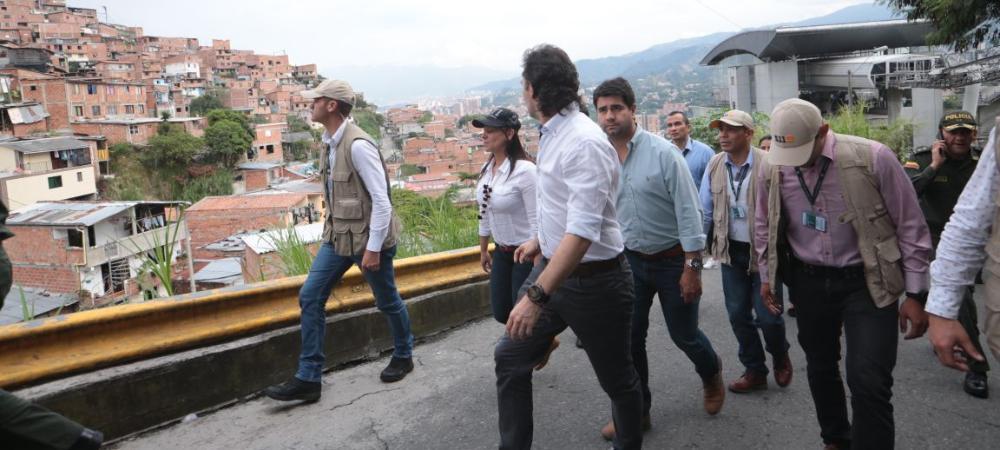 La inversión social en la comuna 13, San Javier, suma más de medio billón de pesos.