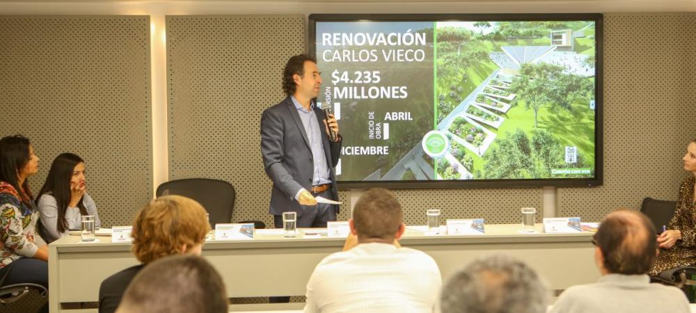Plan de intervención del Teatro Carlos Vieco Ortiz