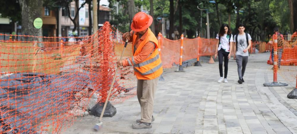 Obras Avenida la Playa