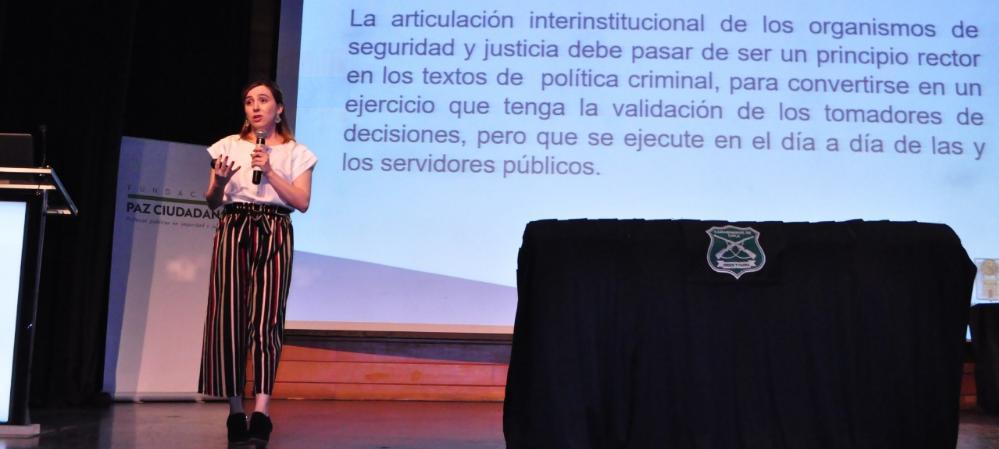 Equipos de análisis delictivo recibieron galardón internacional
