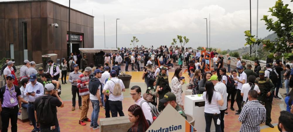 Alcaldes de ciudades del aprendizaje recorrieron Medellín