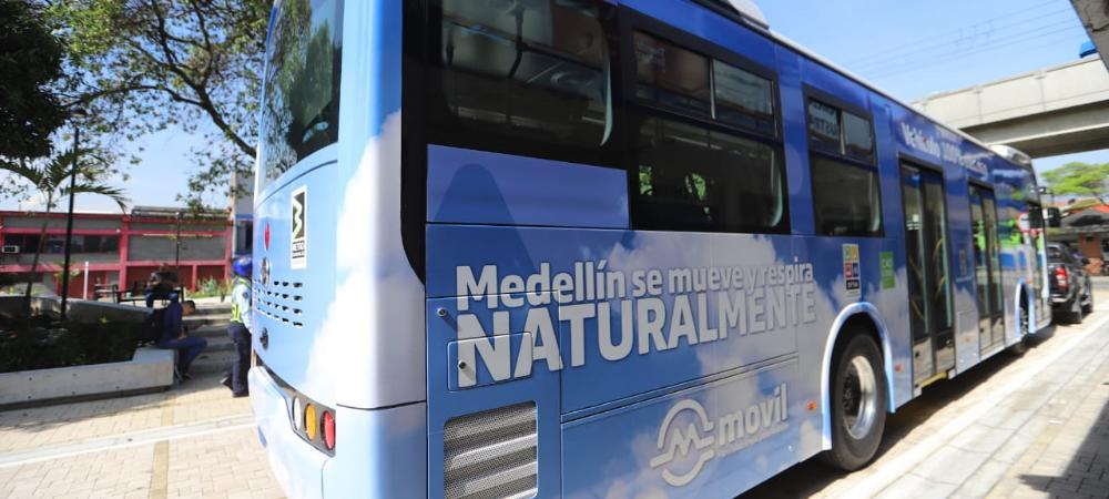 Así lucirán los buses eléctricos de Medellín
