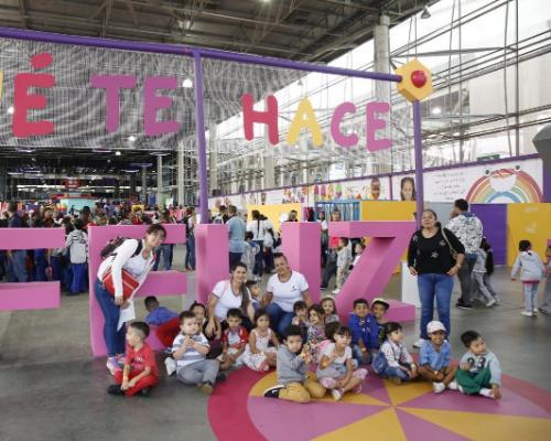 Empezó la revolución creativa de los niños de Medellín