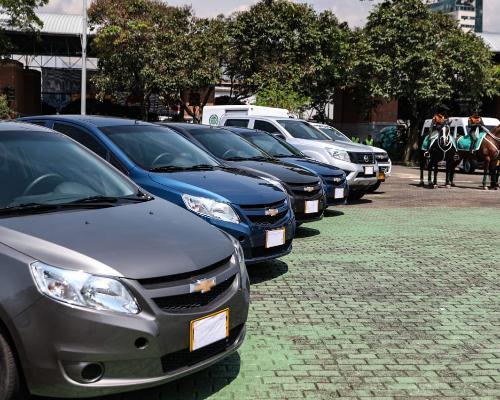 Nueva flota de vehículos reforzará seguridad en las vías