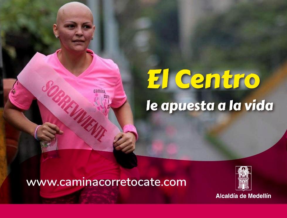 En el Día Mundial contra el Cáncer de Mama, el Centro se viste de rosa