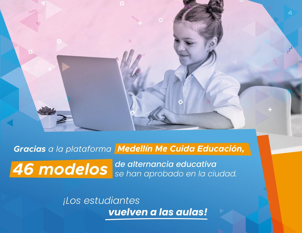 Medellín me cuida educación