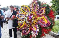 Ganador Absoluto de la edición 54 del  Desfile de Silleteros: Edilberto Londoño Atehortúa de 39 años, con una silleta Monumental