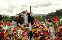55 Desfile de Silleteros - Primer puesto Silleta Monumental: Luis Alfonso Rave de 52 años. Vereda El Llano