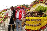 55 Desfile de Silleteros- Ganador Silleta Emblemática: Rodrigo Alonso Sánchez, de 30 años. Vereda San Ignacio